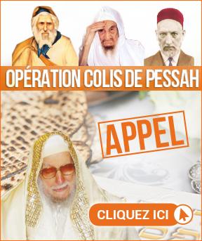 Opération colis de Pessah 5780