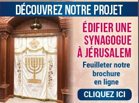Feuilleter notre brochure synagogue
