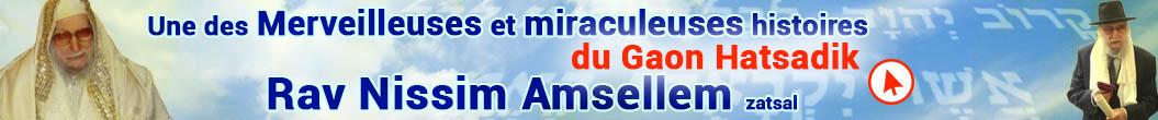 Rav Nissim AMSELLEM