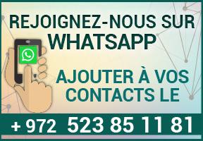 Nous rejoindre sur whatsapp