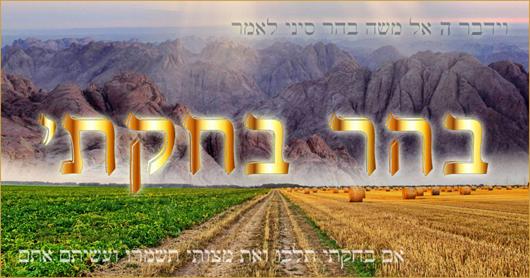 Behar-Behoukotaï, Chemita, Yovel, Mitzvot et Guéoula