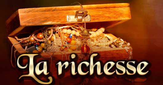 Une richesse bien plus grande