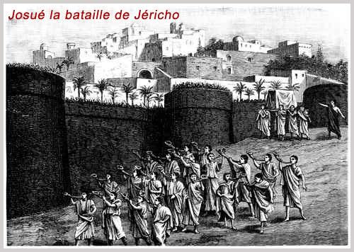 Josué la bataille de Jéricho