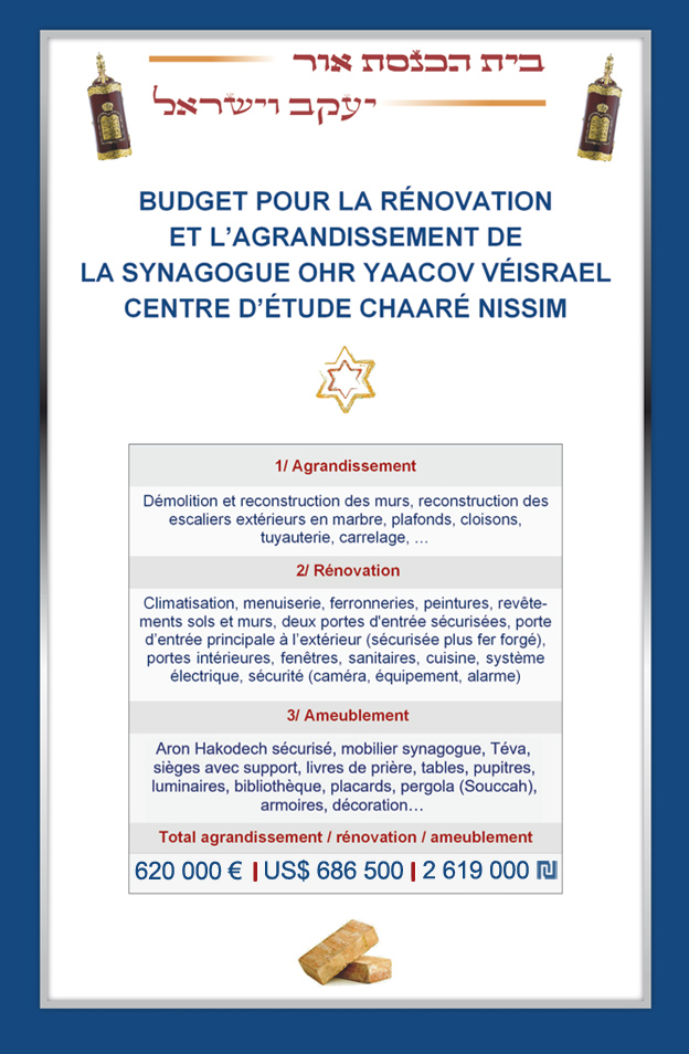 Budget Synagogue Baba Salé